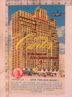 CPA USA - Hôtel Carter - NEW YORK - 250 West 43 Re St - NYC 10036 - Non Classés