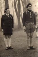 PHOTO 5 - VINCENNES - Photo De Départ Routier Mr M. GALLOIS Et Son Parrain P.D.GUILLARD Ac.p.r Province Saint Louis - Scoutisme