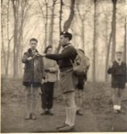 PHOTO 6 - VINCENNES - Scouts / Départ Routier Et  L´ Engagement - Scoutisme