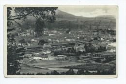 Saint-Dié (88) : Vue Générale Du Quartier De La Gare En 1945  PF. - Saint Die