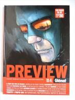 REVUE Cartonnée PREVIEW - GLENAT T4 2007 Couv Delitte - Livres, BD, Revues