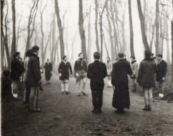 PHOTO 11 - VINCENNES -  Scouts / Départ Routier - L´arrivée - Scoutisme