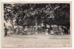 Bourges, Le Moulin Batard, La Terrasse Du Café, éd. E. M. B. N° 3, Belle Animation, Plis Et Rousseurs - Bourges