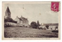 Cpa  Pellevoisin  L'église - Autres Communes