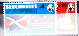 Seychelles, 1976, SG 363 - 364, MNH - Seychellen (1976-...)
