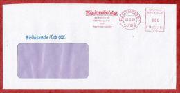 Briefdrucksache, Francotyp-Postalia F18-1247, Kleinwaechter Silotransporte, 80 Pfg, Hallenberg 1990 (47785) - Covers & Documents