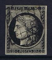 France Yv. Nr 3 Obl/used Grille - 1849-1850 Ceres