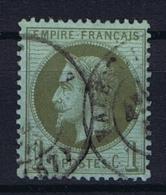 France Yv. Nr 25 Obl/used - 1863-1870 Napoleon III Gelauwerd