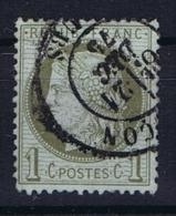 France Yv. Nr 50  Obl/used - 1871-1875 Ceres