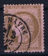 France Yv. Nr 58 Obl/used - 1871-1875 Cérès