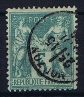 France Yv. Nr 64 Obl/used Type I, Mi 59 - 1876-1878 Sage (Type I)