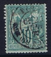 France Yv. Nr 65 Obl/used Type I - 1876-1878 Sage (Type I)