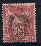 France Yv. Nr 71 Obl/used Type I - 1876-1878 Sage (Type I)