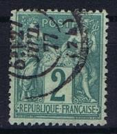 France Yv. Nr 74 Obl/used Type II - 1876-1898 Sage (Type II)