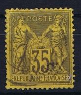 France Yv. Nr 93 Obl/used Type II - 1876-1898 Sage (Type II)