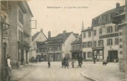 70 HERICOURT Le Quartier Des Hotels Animée - Otros Municipios