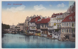 (RECTO / VERSO) METZ EN 1918 - FEISENSTRASSE - Metz
