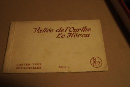 Carnet De 10 Cartes Vallée De L'Ourthe - Le Hérou - Cartes Vues Détachables - Nels - Livres
