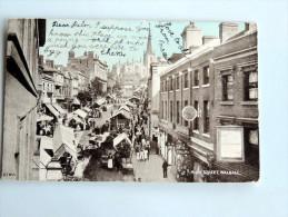 Carte Postale Ancienne : Weston-super Mare. The Sands , Stamp - Weston-Super-Mare