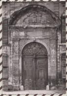 4AF326 AIX EN PROVENCE ARCHEVECHE PORTE EN BOIS SCULPTE   2 SCANS - Aix En Provence