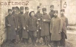 CARTE PHOTO : EN REPRESAILLES A REGEN BAVIERE 2eme REGIMENT DE CHASSEUR ALPIN ET 140eme REGIMENT D'INFANTERIE - Regimente