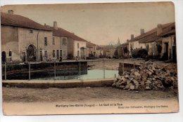 REF 169 : CPA 2 Scans 88 MARTIGNY LES BAINS Le Gué Et La Rue - Autres Communes