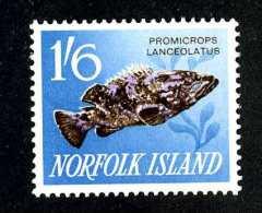 1189  Norfolk Is 1962  Scott #58   M*  Offers Welcome! - Ile Norfolk