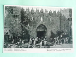 JERUSALEM - La Porte De DAMAS - Israel