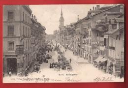 CBE-20  Bern Spitalgasse, Markt, Blum Tailleurs. Pioneer. Gelaufen In 1910 Nach Grabs - BE Berne