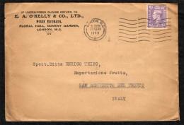 GRAN BRETAGNA - 1949 - BUSTA COMMERCIALE - LONDON W. C. - 1902-1951 (Re)