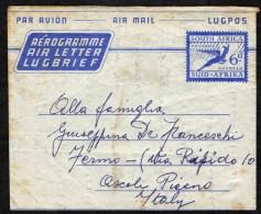 SUD AFRICA - 1957 - AEROGRAMME - Sud Africa (...-1961)