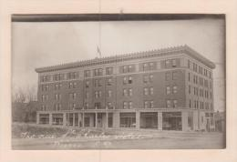 D54084 Postcard Vintage Real Photo New St. Charles Hotel, Pierre South Dakota, Postally Unused - United States