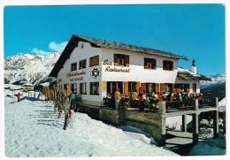 M1081 Courmayeur (Aosta) - Plan Checrouit - Hotel Ristorante Christiania / Viaggiata 1972 - Italy