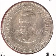 FILIPPIJNEN PESO 1963 AG UNC TYPE COIN - Filippine