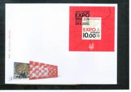 Kroatien / Croatia 2010  EXPO Shanghai Block FDC - 2010 – Shanghai (China)