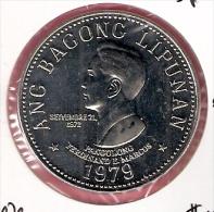 FILIPPIJNEN 5 PISO 1979 CN UNC TYPE COIN - Philippines