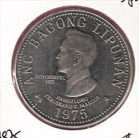 FILIPPIJNEN 5 PISO 1975 CN UNC TYPE COIN - Philippines
