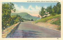 Skyline Drive, VIRGINIA, Looking Toward Stony Man Peak - Non Classés