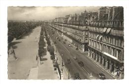 Cp, 75, Paris, Rue De Rivoli Et Jardin Des Tuileries - Francia