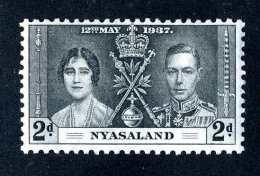 1254  Nasaland 1937  Scott #53  M*  Offers Welcome! - Nyassaland (1907-1953)