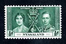 1257  Nyasaland 1937  Scott #51  M*  Offers Welcome! - Nyassaland (1907-1953)