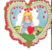 """Valentine Card  3.2"""" X 3.2""""  8 Cm X 8cm  Whenever I See You I Never Quite Dare To................. - Seasons & Holidays"""
