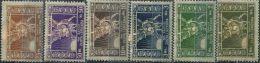 CE2070 Poland Places 1918 Immortal Monster Gold 6v MLH - ....-1919 Gouvernement Provisoire