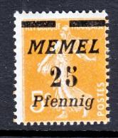 Memel  56  * - Memel (1920-1924)