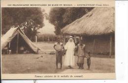 LEOPOLDVILLE: Franciscaines Missionnaires, Femmes Atteintes De La Maladie Du Sommeil - Kinshasa - Léopoldville