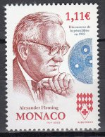 MONACO 2003  A TRIBUTE TO ALEXANDER FLEMING PENICILLIN NOBEL PRIZE MNH ** NEUFS MIX - Nobelpreisträger