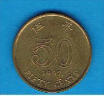 HONG KONG - 50 Cents 1997   KM68 - Hong Kong