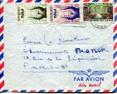 TOGO- Lettre   De LOME Pour Paris 1960 - Togo (1960-...)