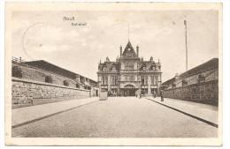 NEUSS Bahnof (Gare) 1918 - Neuss