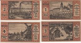 Komplette Serie Berliner Nr 1 Bis 20 / Berlin 9. Sept. 1921 Magistrat Der Reichshauptstadt - [11] Local Banknote Issues